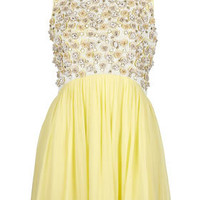 **LIMITED EDITION Floral Embellished Skater Dress - Dresses  - Clothing