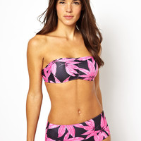 Motel Exclusive to ASOS Palm Leaf Bikini at asos.com