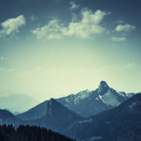 Mountains Art Print by Christian Solf