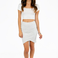 Curvy Bottom Skirt $39