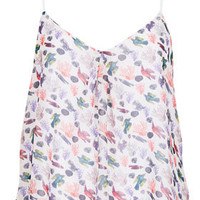 Bird Print Cami Top