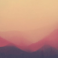 Sunset Fog Art Print by Hallwood