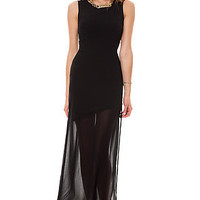 LA Boutique Dress Scenario Black
