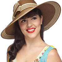 Style My Sunshine Hat in Cocoa | Mod Retro Vintage Hats | ModCloth.com