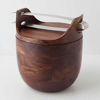 Anthropologie - Sheesham Ice Bucket