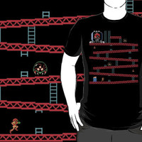 Metroid Kong by 1up Apparel
