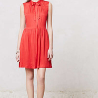 Anthropologie - Scarlet Bowtie Dress