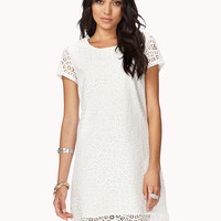 Essential Eyelet Shift Dress