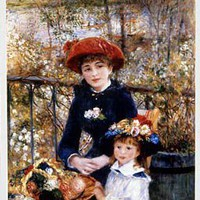 The Museum Shop of The Art Institute of Chicago, Renoir Two Sisters (On the Terrace) Poster