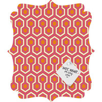 DENY Designs Home Accessories | Caroline Okun Zest Quatrefoil Magnet Board