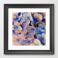 Blue Dreams Framed Art Print by Msimioni