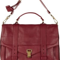 Proenza Schouler | PS1 large leather satchel | NET-A-PORTER.COM