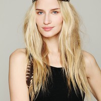 Free People Black Feather Halo