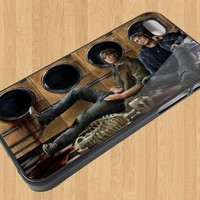 Supernatural Winchesters Iphone case for Iphone Case 4 4S sm954