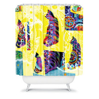DENY Designs Home Accessories | Randi Antonsen Cats 1 Shower Curtain