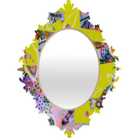 DENY Designs Home Accessories | Randi Antonsen Cats 4 Baroque Mirror