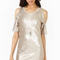 Glint Of Gold Dress