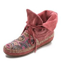 House of Harlow 1960 Mallory Moccasin Booties | SHOPBOP