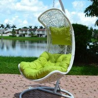 Clove - Balance Curve Porch Swing Chair - Model - Y9091WT:Amazon:Home & Kitchen