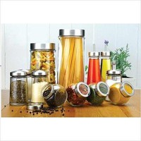 Crystal Clear Stylesetter 12-Piece Kitchen Storage Set