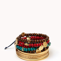 Warrior Bracelet Set | FOREVER 21 - 1000038944