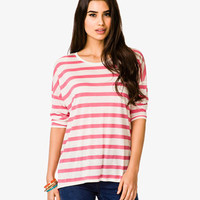 Dolman Striped Tee