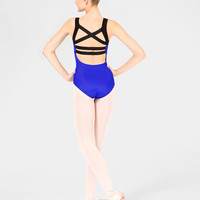 Free Shipping - Elastic Back Adult Tank Leotard by NATALIE
