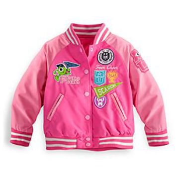 Monsters University Varsity Jacket for Girls | Disney Store