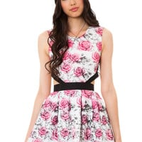 The BOTB by Hellz Bellz Loveless Dress in Floral Print