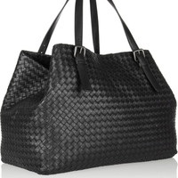 Bottega Veneta | Intrecciato large leather tote | NET-A-PORTER.COM