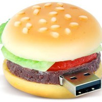 High Quality 4 GB Food Hamburger USB Flash drive:Amazon:Computers & Accessories