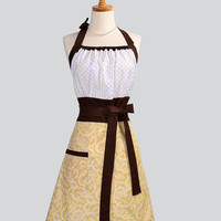 Cute Kitsch Apron Modern Design With Swiss by CreativeChics