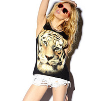 Tiger Graphic Muscle Tee | FOREVER 21 - 2000051022