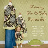 Mommy Me and Dolly Pattern Pack including by froglegsandponytails