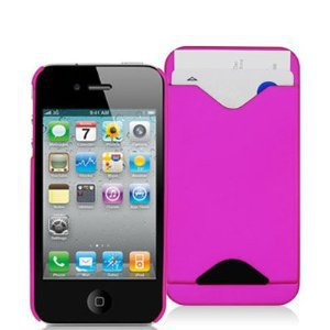 iPhone 4 Silicone Case with Credit Card Slot