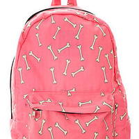 O-Mighty Bones Backpack in Pink