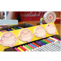 Speech Bubble Sticky Note Set