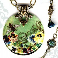 Voyageur - Victorian Garden Collection - Queen Bee | TzaddiShop - Jewelry on ArtFire