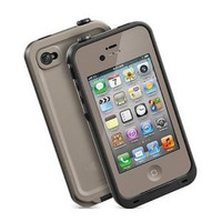Amazon.com: Generic Water Proof Carrying Case for iphone 4 4S Case Cover (light gray): Cell Phones & Accessories