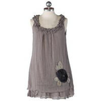 annie grace linen tunic - $33.99 : ShopRuche.com, Vintage Inspired Clothing, Affordable Clothes, Eco friendly Fashion