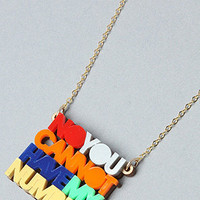 Karmaloop.com - Global Concrete Culture - The My Number Necklace by NEIVZ