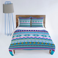 DENY Designs Home Accessories | Iveta Abolina Tribal Teal Duvet Cover