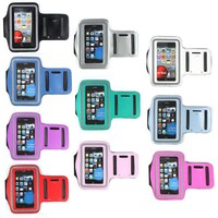 1x Premium Sports Workout Gay Armband Case Cover For Apple iphone 4 4G 4S 3G 3GS
