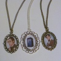 David Tennant, Matt Smith, Tardis Doctor Who Necklace