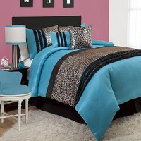 Lush Decor Kenya 6-pc. Comforter Set - Full