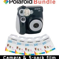 Polaroid PIC-300 Instant Camera in Black + Accessory Kit:Amazon:Camera & Photo