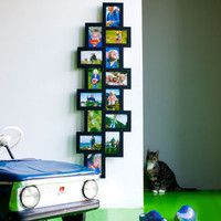 14 in 1 Black Collage Frame ? funky photo picture frame ? buy online