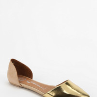 Jeffrey Campbell In Love Metallic DOrsay Flat