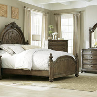 Jessica McClintock Baroque Queen Mansion Bed