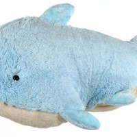 My Pillow Pet Dolphin - Large (Light Blue):Amazon:Toys & Games
